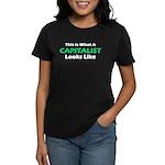 Capitalist Women's Dark T-Shirt