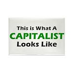 Capitalist Rectangle Magnet