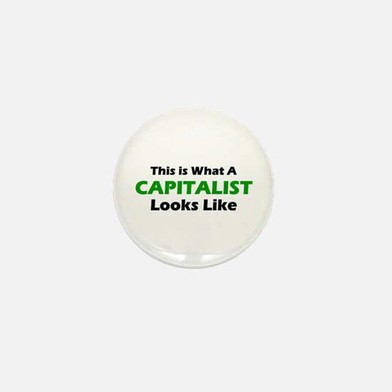 Capitalist Mini Button
