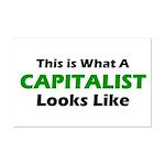 Capitalist Mini Poster Print
