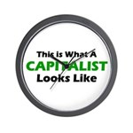 Capitalist Wall Clock