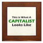 Capitalist Framed Tile