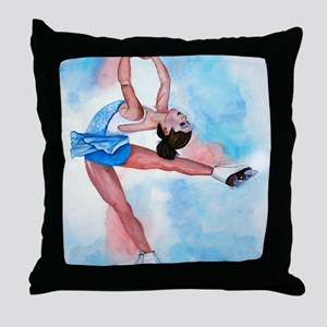 layback spin Throw Pillow