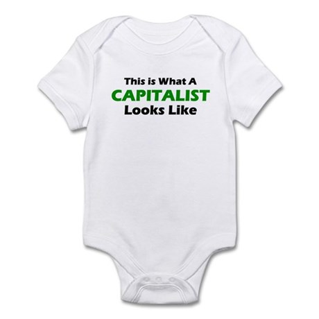 Capitalist Infant Bodysuit