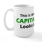Capitalist Large Mug