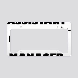 AssistantManager2 License Plate Holder
