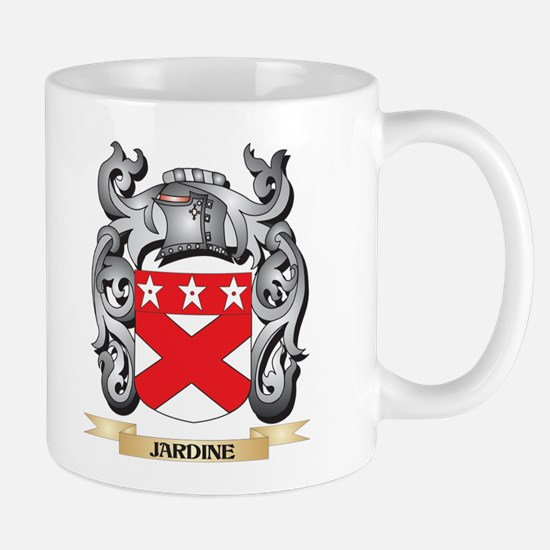 Jardine Coat of Arms - Family Crest Mugs