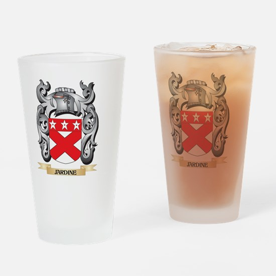 Jardine Coat of Arms - Family Crest Drinking Glass