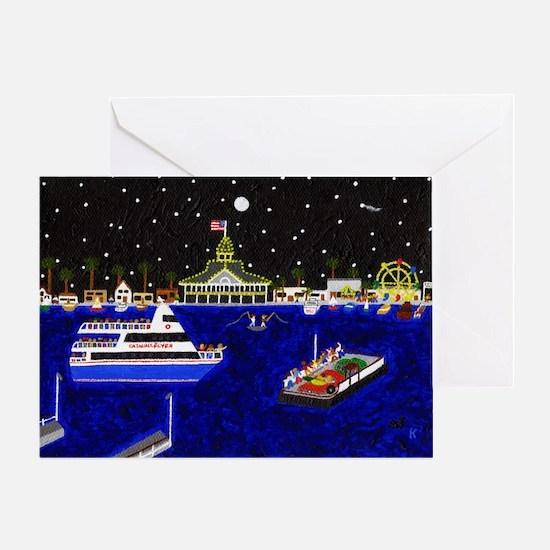 Legendary Harbor Greeting Card