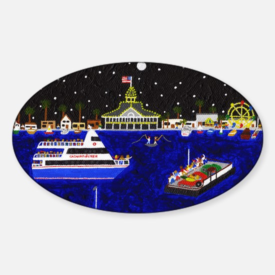Legendary Harbor Sticker (Oval)