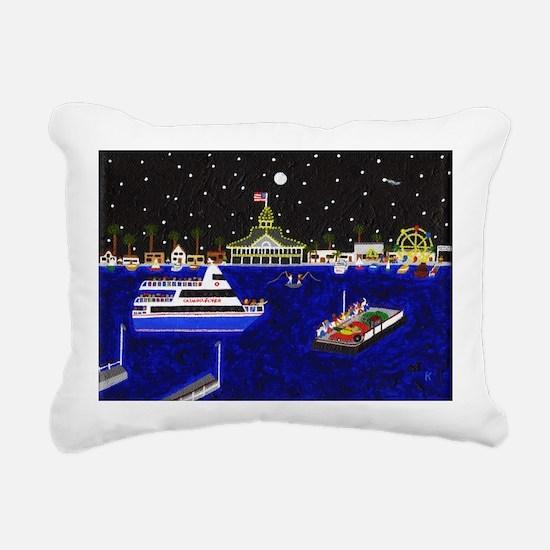 Legendary Harbor Rectangular Canvas Pillow