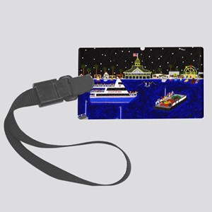 Legendary Harbor Large Luggage Tag
