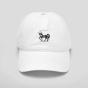 Isabella black horse Cap