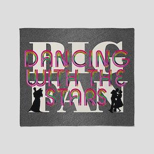 dancingwstarsfan2a Throw Blanket