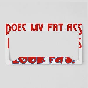fat ass License Plate Holder