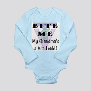 Bite Me Grandma Vet Tech Body Suit