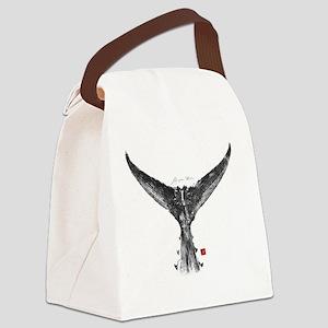 tunatail shirt Canvas Lunch Bag