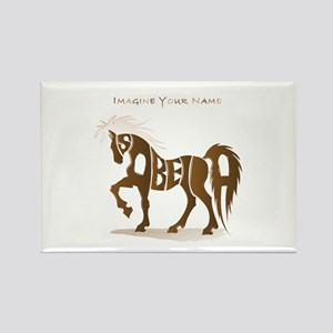 Isabella brown horse Rectangle Magnet