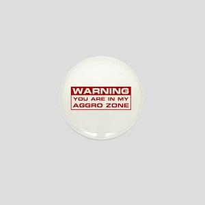 Aggro Zone Mini Button
