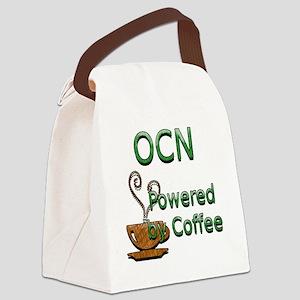 coffee ocn Canvas Lunch Bag