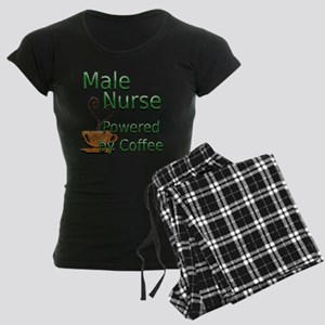 coffee male nurse Women's Dark Pajamas