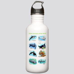 Ocean Animals Stainless Water Bottle 1.0L