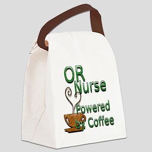 2-coffee or nurse Canvas Lunch Bag