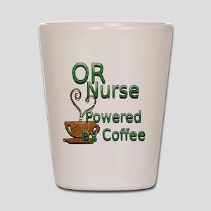 2-coffee or nurse Shot Glass