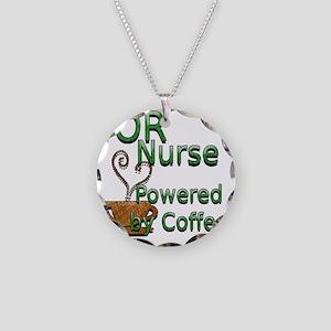 2-coffee or nurse Necklace Circle Charm