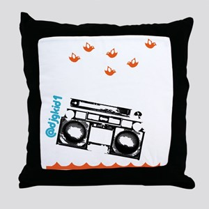 SaveTheRadio_2 Throw Pillow