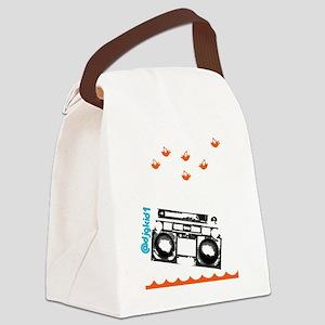 SaveTheRadio_2 Canvas Lunch Bag