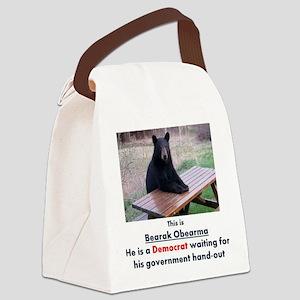 Bearj3 Canvas Lunch Bag