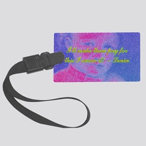 2-Ill make them pay for this I s Large Luggage Tag