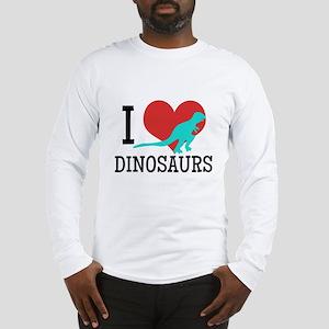 I Love Dinosaurs Long Sleeve T-Shirt