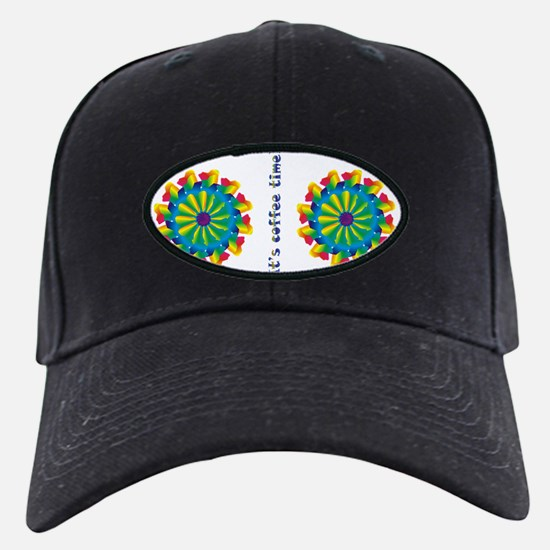its coffee time copy Baseball Hat