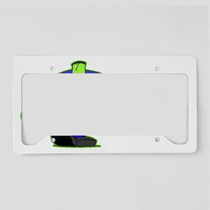 Go_Green_Frank_dark License Plate Holder