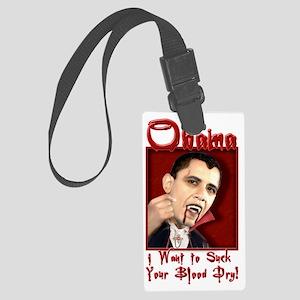 ObamaDracula Large Luggage Tag