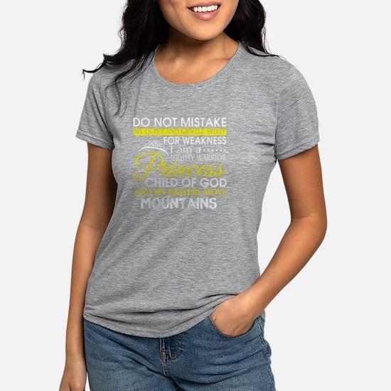 I Am A Mighty Warrior Princess Child Of Go T-Shirt
