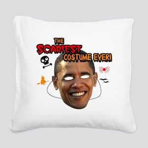 sacariest_costume_obama_light Square Canvas Pillow
