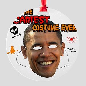 sacariest_costume_obama_light Round Ornament