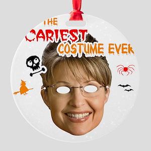 sacariest_costume_palin_dark Round Ornament