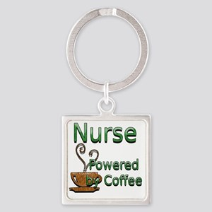 coffee nurse Square Keychain