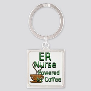coffee er Square Keychain