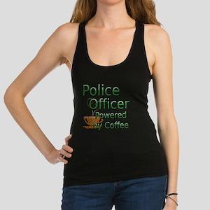 coffee police off Racerback Tank Top