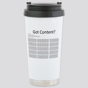 HDCP Front Stainless Steel Travel Mug