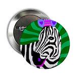 "zebra 2.25"" Button (100 pack)"