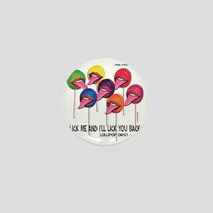 Lollipop Orgy Mini Button