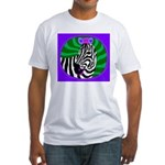 zebra Fitted T-Shirt