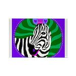 zebra Rectangle Magnet (100 pack)