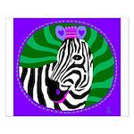 zebra Small Poster